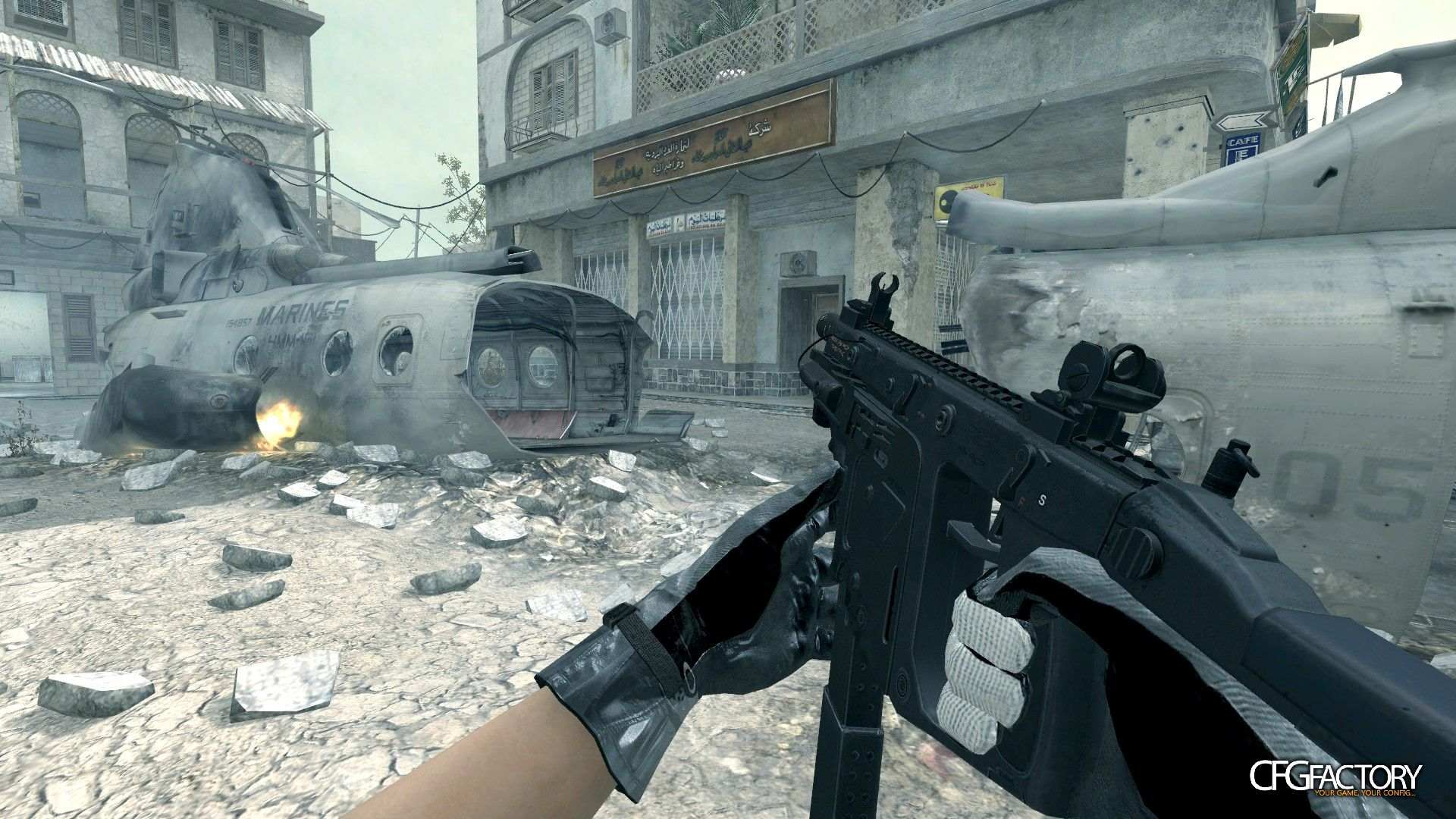 cod4, custom models, ghosts vector, convictiondr