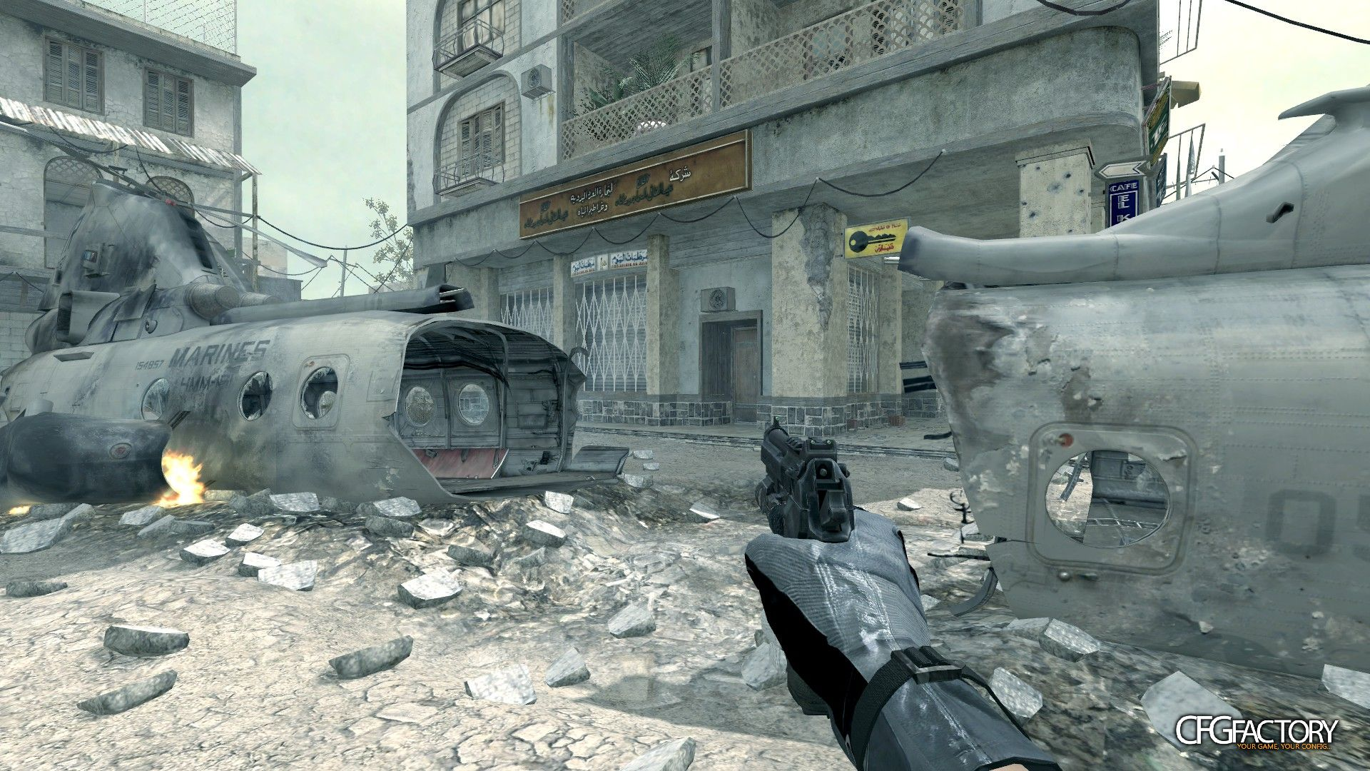 cod4, custom models, ghosts m9a1, convictiondr