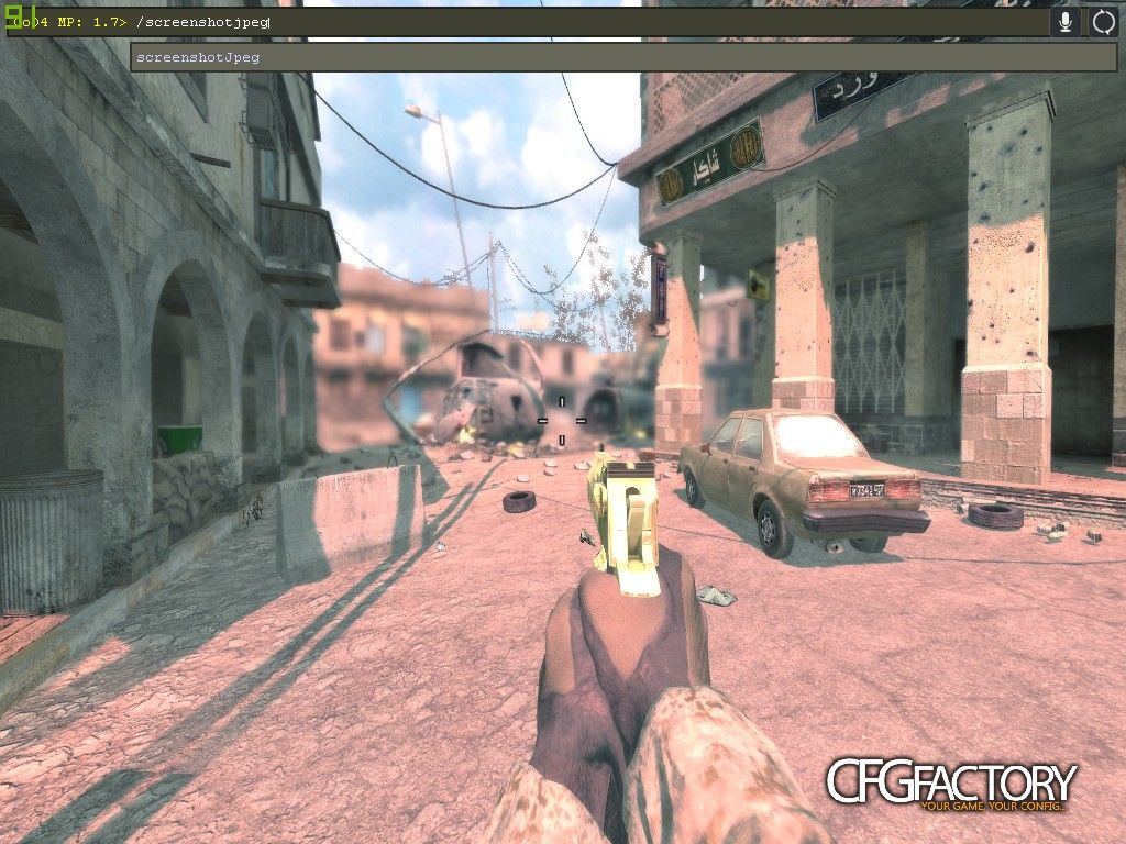 cod4, movie configs, pink sun, n/a