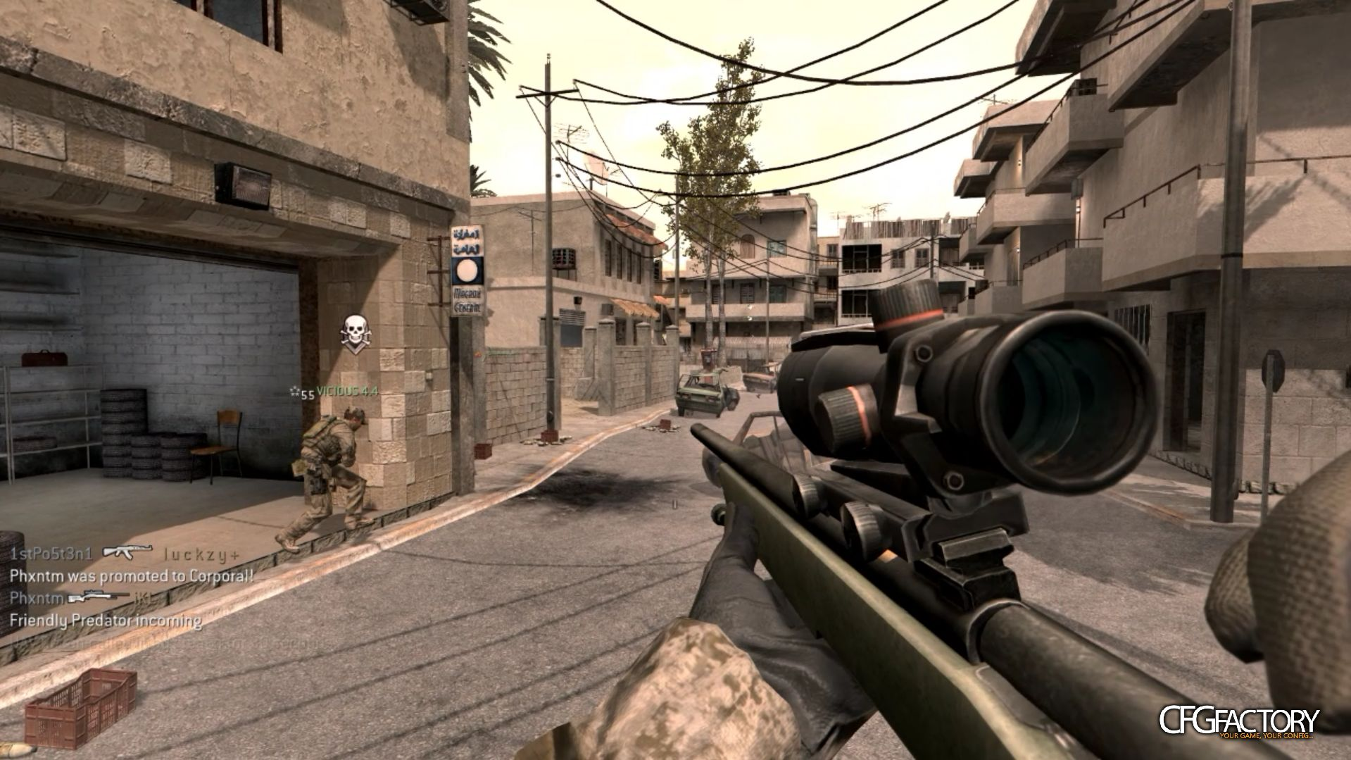 cod4, movie configs, bakuhh's clean config, bakuhh/bakafied
