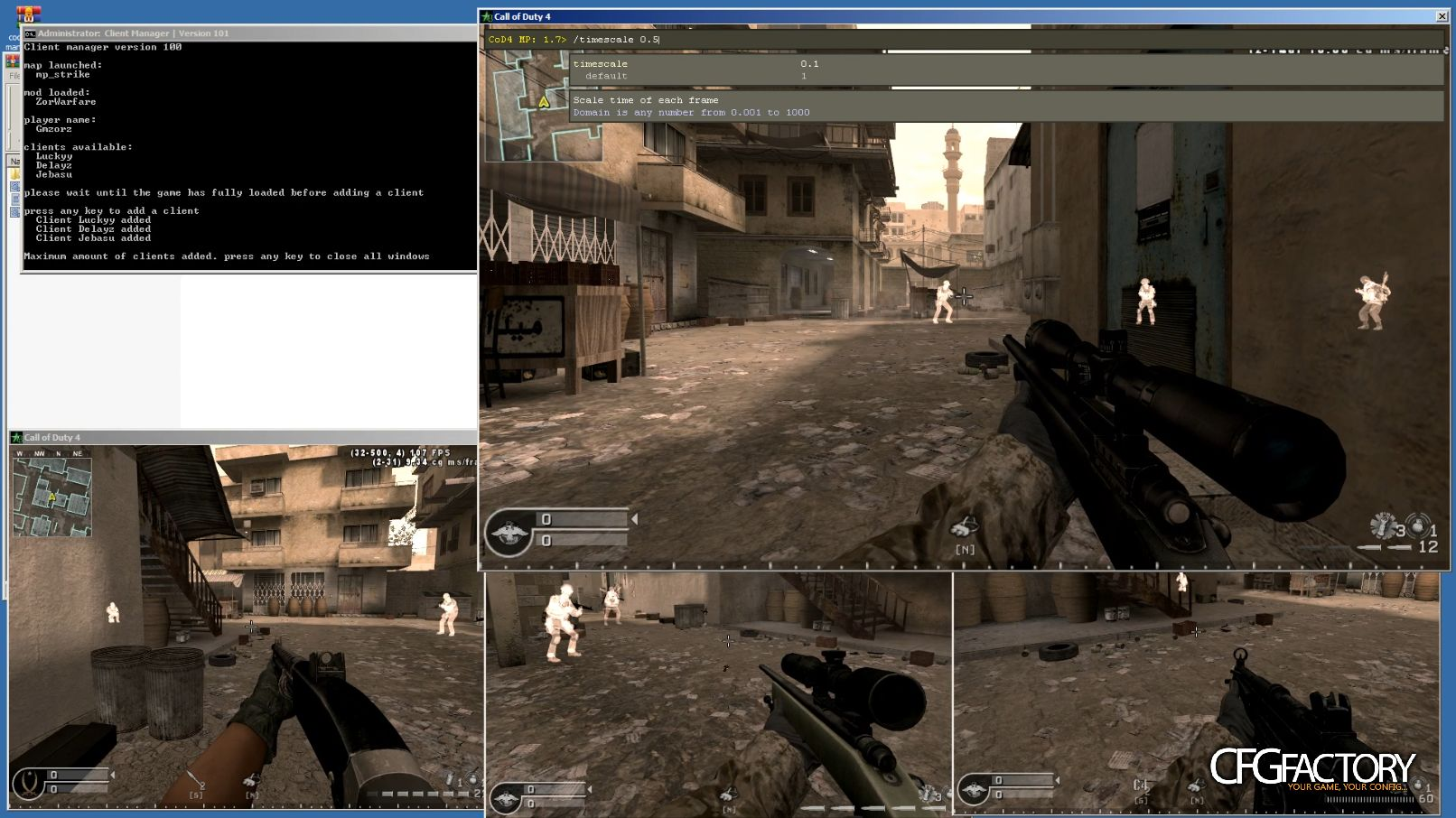 cod4, tools, client manager for cod4, gmzorz