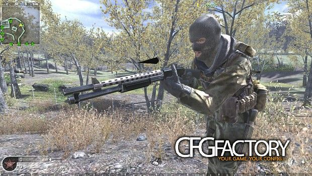 cod4, mods, replacement of two models for pezbot, Русски