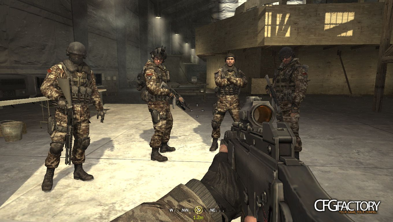 cod4, mods, the army of the new russia., Русск&#1080