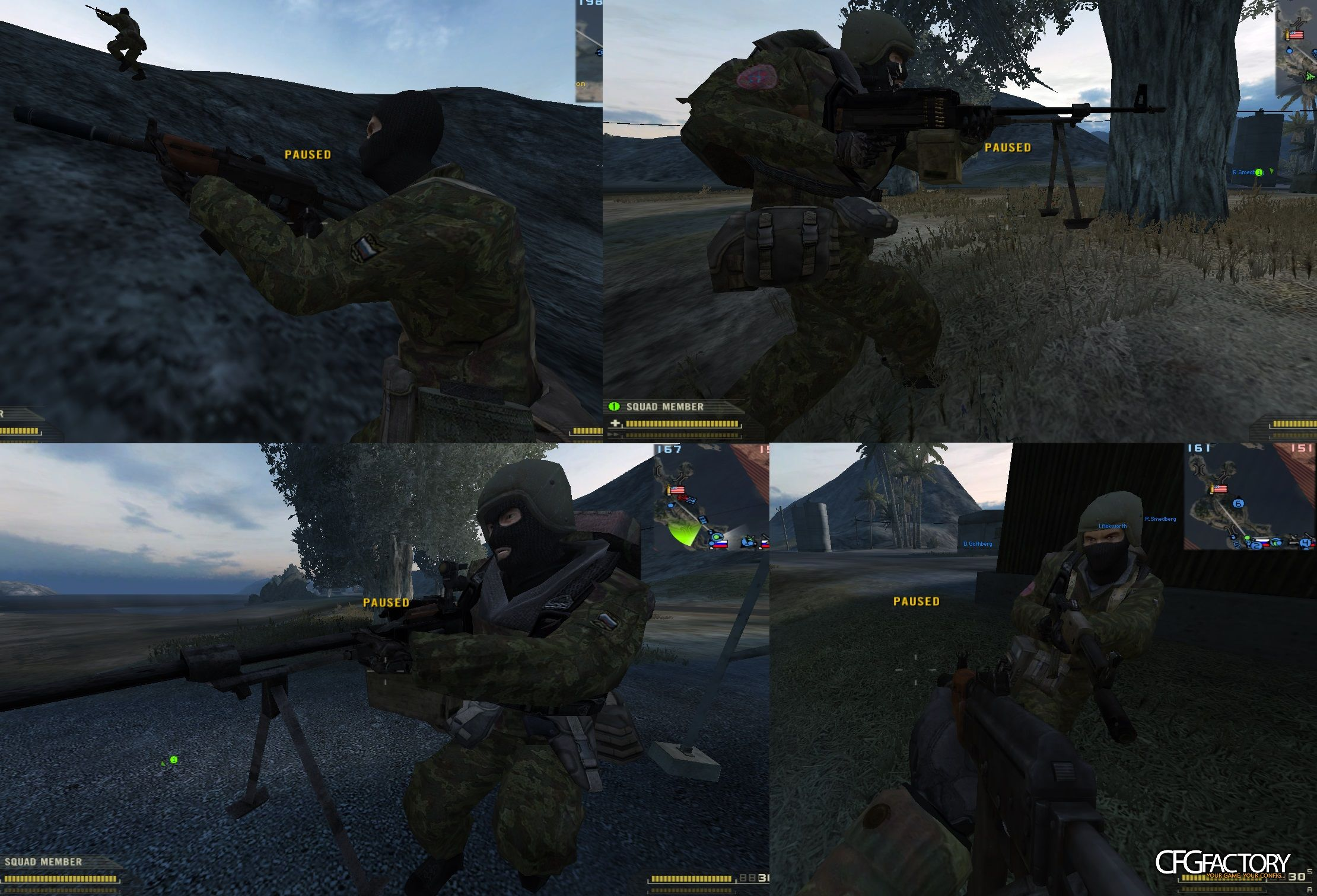 bf2, player, spetsnaz skin army r.f., red_spetsnaz