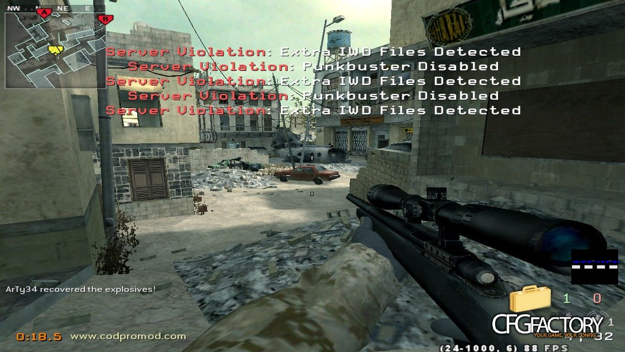 cod4, other / misc, cod4 server violation fix, j3rry