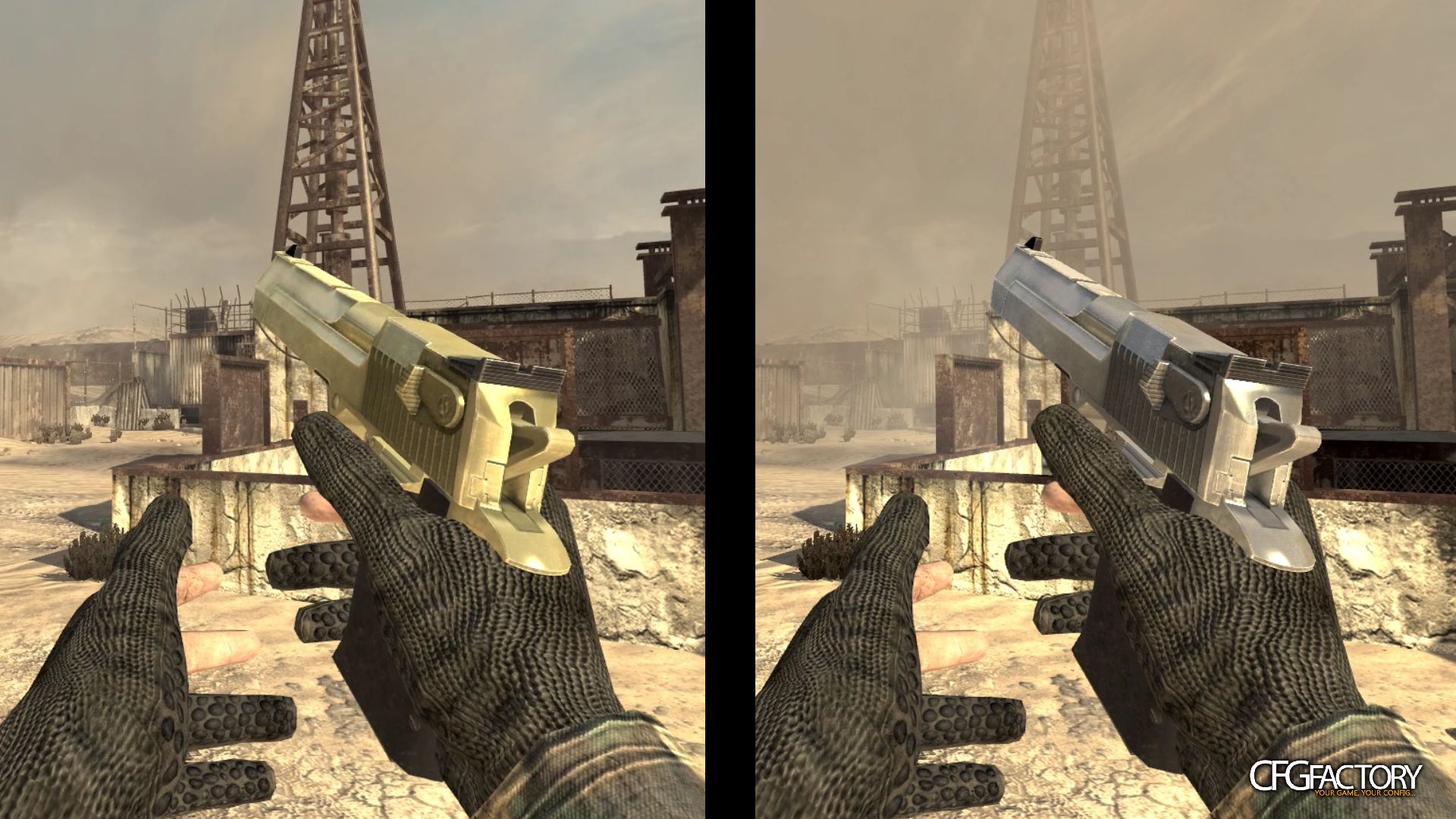 mw2, deagle, gold to silver, n/a