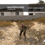 cod4, custom models, baseball bat, koene007