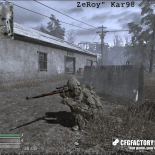 cod4, custom models, scoped kar98k, zeroy