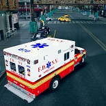 gta4, skins, fdny textures for f350 ambulance by ssanchez10 v.1, mrali95
