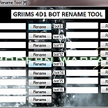 cod4, tools, simple tool for renaming bots, griimy0