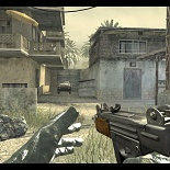cod4, uzi, uzi with wood grip, quaddamage