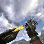 mw2, deagle, mw2 desert eagle golden dragon remake, kaffe97