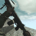 waw, custom models, ghosts m27 iar, infinity ward