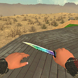 cod4, knife, knife | marble fade, foxcod4
