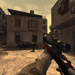 cod4, m40a3, black and red m40a3, tomyi