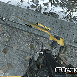 cod4, m40a3, m40a3 wooden skin with a golden touch, aron07