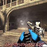 cod4, deagles, desert_eagle - noir & blanc, james45-youtube / james45x1997xst