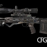 cod4, custom models, cod ghosts marksman pack, mitsurugi