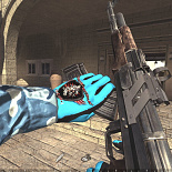 cod4, gloves, gloves 2.0 bleu - james45-fr, james45-fr - james45-youtube