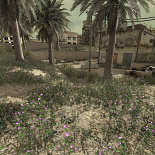 cod4, movie mods, red / purple grass, gmzorz